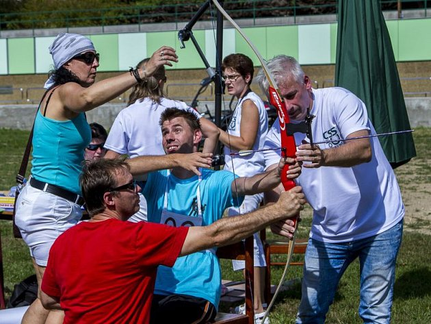 V Hrabyni se uskutečnil už čtrnáctý ročník Sportovního dne postižených.