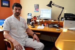 Primář Matúš Peteja stojí v čele opavského chirurgického oddělení od začátku roku.