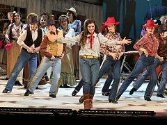 Opereta Arizona Lady premiérové publikum ve Slezském divadle bavila.