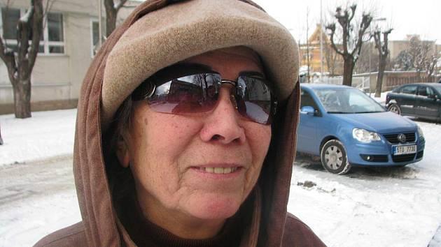 Kamila Volná, 62 let, Opava, důchodkyně: Ne v žádném případě. Jsem normální člověk a ještě k tomu bývalý ekonom, takže si dovedu vše spočítat.