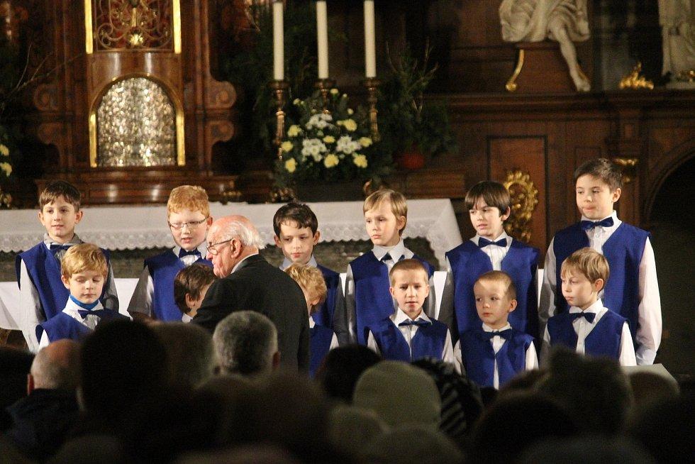 Česká mše vánoční Jakuba Jana Ryby v kostele sv. Vojtěcha v prosinci 2017.