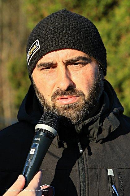 Dostihový trenér Radek Holčák zVelkých Karlovic.