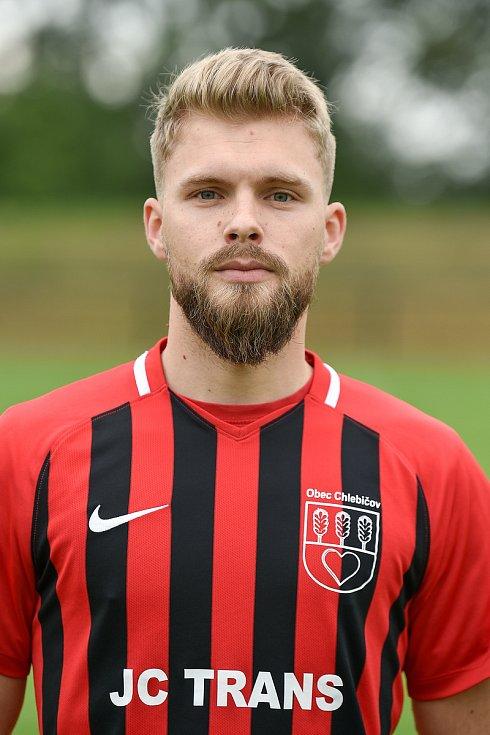 Fotbalový klub SK Viktorie Chlebičov, 9. června 2020 v Chlebičově. Martin Dzierža, krajní obránce/pravý záložník.
