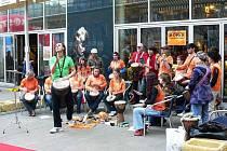 Bubenický orchestr Boris pod vedením Iva Samiece.
