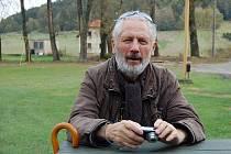 Sochař a pedagog Kurt Gebauer.