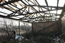 Takto skončila jedna z budov v sousedství nádraží Opava-východ.