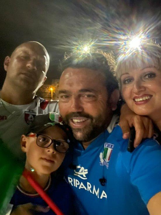 Češka Gabriela, která žije v Itálii prožila atmosféru EURA