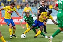 V prvním domácím zápase letošní sezony FORTUNA:NÁRODNÍ LIGY remizovala Opava s Vlašimí 3:3. Jak si povede v sobotu proti Vyškovu?