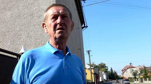 Günther Vitásek patří k těm, kteří jsou jednoznačně proti těžbě štěrku.