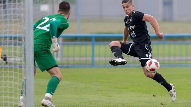 """Dolní Benešov-Baník Ostrava""""B"""" 0:4."""