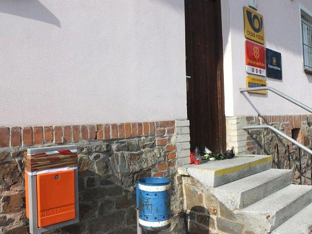 Pošta ve Skřipově v úterý 1. října dopoledne.