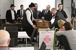 Masopustní zábavy končí, basu pochovali také v Opavě
