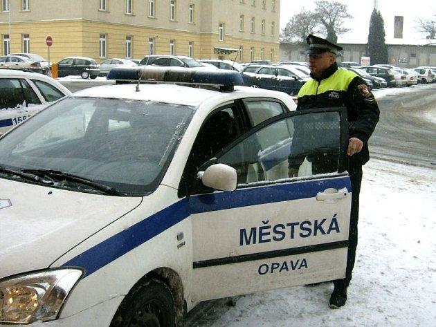 Městská policie Opava. Ilustrační foto.