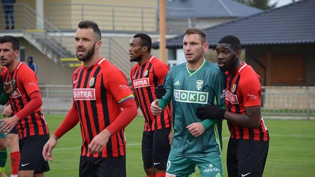 Fotbalová příprava. SFC Opava - MFK Karviná 2:1. Velké Hoštice, 13. listopadu 2020. Foto: MFK Karviná/Adam Januszek