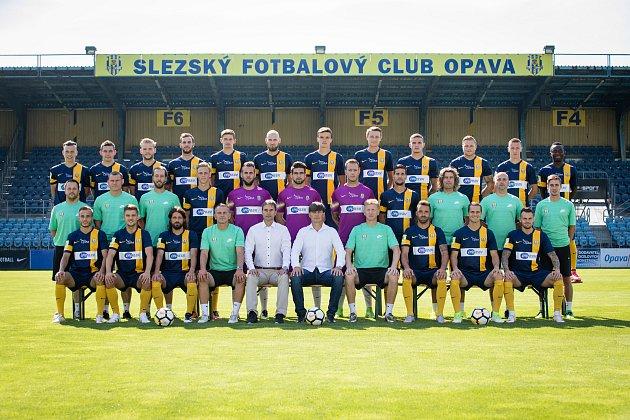 Marek Elek ještě jako člen realizačního týmu Slezský FC Opava.