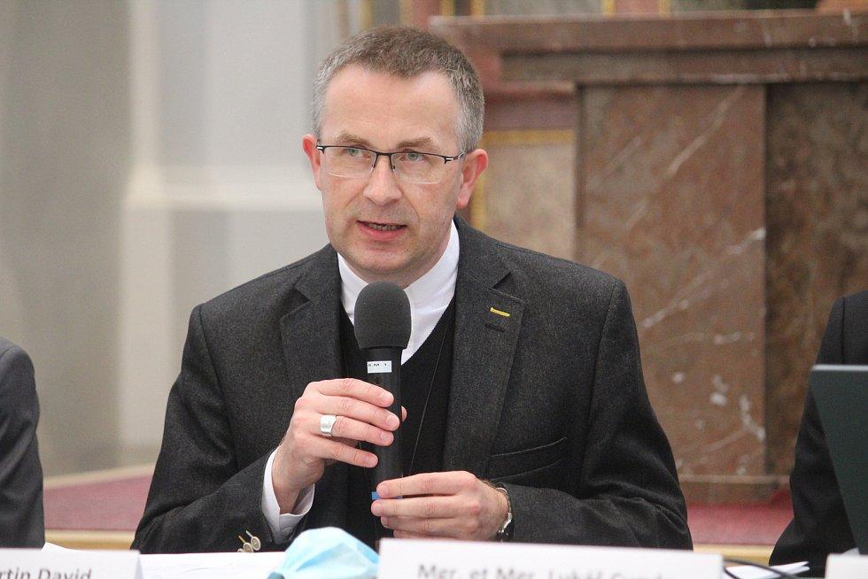 Apoštolský administrátor Ostravsko-opavské diecéze Martin David.
