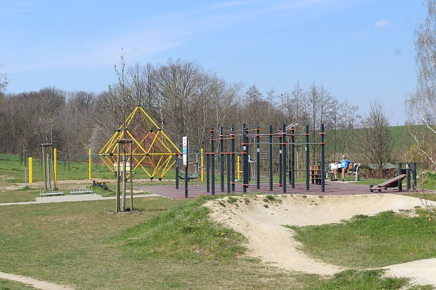 Sportovní areál na okraji obce.