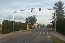 Semafor v Chlebičově by měl být do provozu uveden v tomto týdnu.