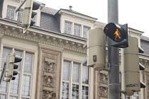 Semafory u Knihovny Petra Bezruče před nedávnem prošly velkou opravou.