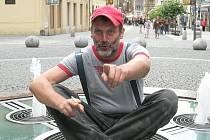 Tomáš Valík při jedné z návštěv Opavy.