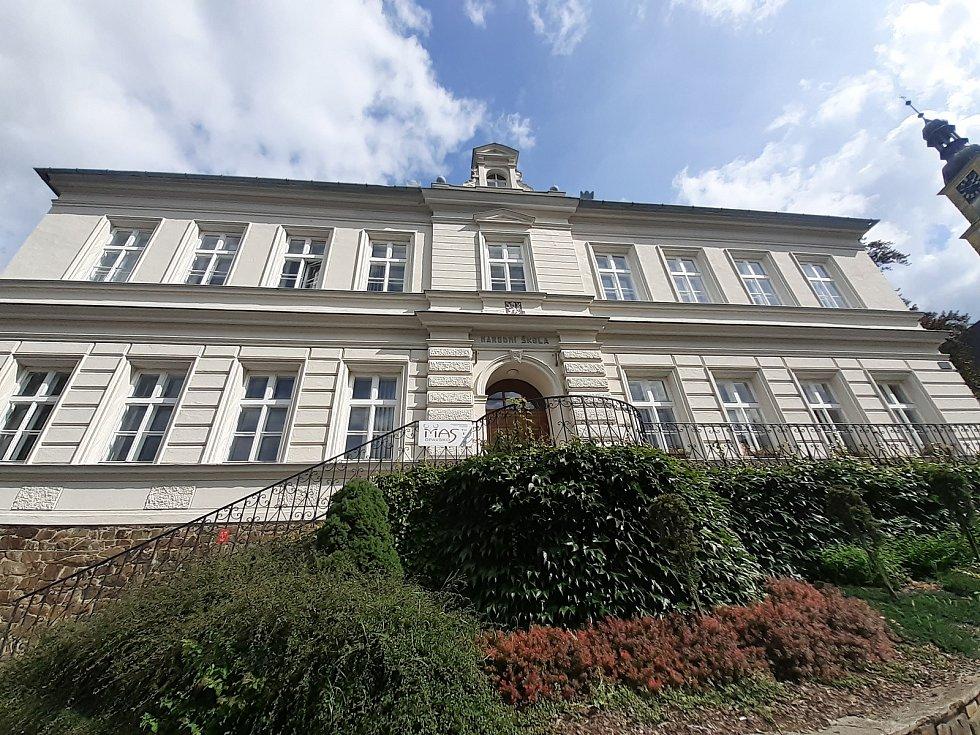 V této budově sídlí Místní akční skupina (MAS) Opavsko.