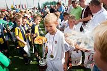 Fotbalový turnaj věkové kategorie ročníku narození 2005 hostil sportovní areál Buly Arény v Kravařích. Vítězem Poháru Generali se stal výběr pražské Sparty.