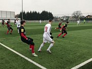 Vánoční zápas Slezského FC Opava. Ilustrační foto.