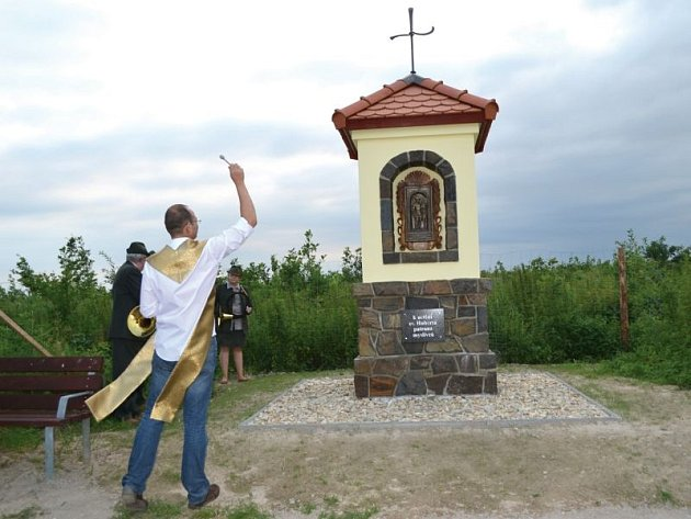 Bolatická kaple je věnována patronu myslivců svatému Hubertovi.