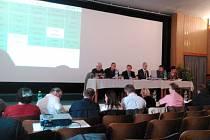 Zasedání zastupitelstva v Hradci nad Moravicí, 10. října 2016.