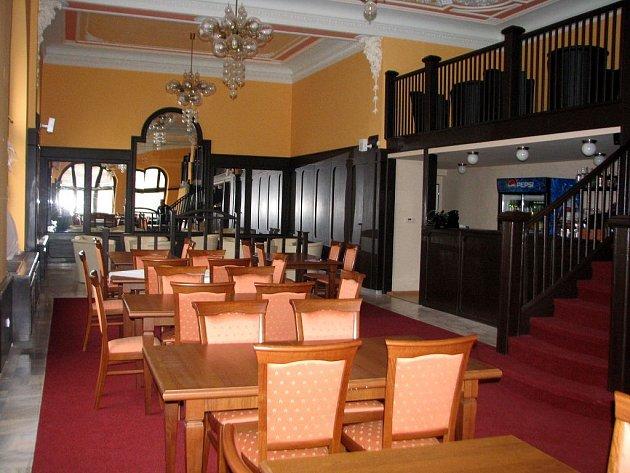 Národní kavárna v Opavě je připravena k otevření.