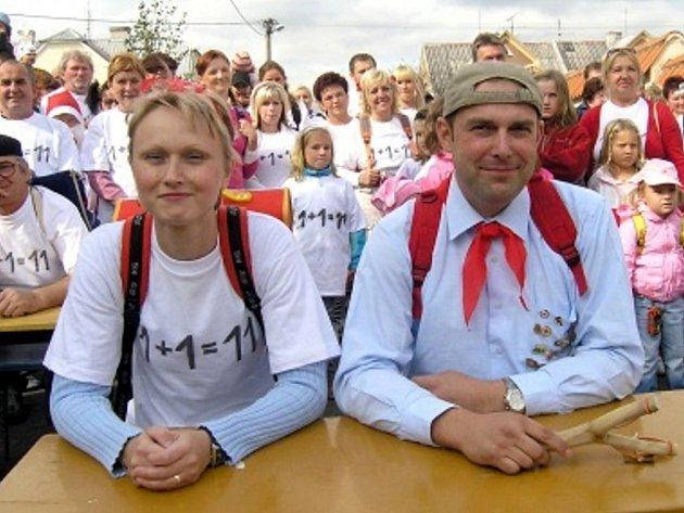 Strassenfest patří mezi hojně navštěvované akce Bohuslavic.