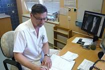 Nový primář chce pokračovat v nastoupeném trendu ortopedického oddělení.