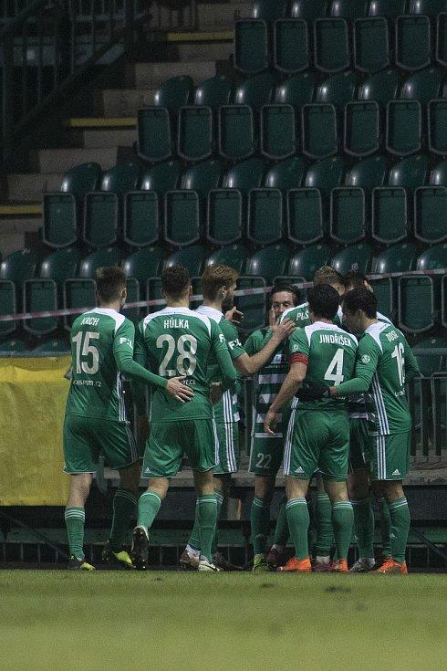 Opava - Dohrávka zápasu 14. kola FORTUNA:LIGY mezi Bohemians Praha 1905 a SFC Opava 27. ledna 2021.