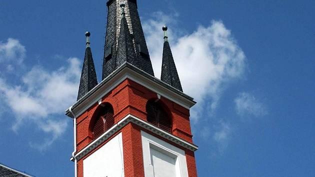 Taková bude konečná podoba fasády kostela po dokončení rekonstrukce v letošním roce.