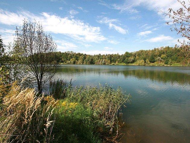Stříbrné jezero v Opavě