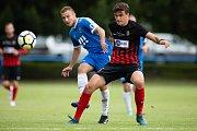 Přípravný zápas SFC Opava - MFK Vítkovice 23. června 2018. Adam Rychlý - o.