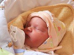 Natálie Theuerová se narodila 7. ledna, vážila 3,31 kilogramů a měřila 49 centimetrů. Rodiče Monika a Roman z Opavy přejí Natálce krásný a spokojený život.