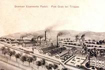 Branecké železárny vroce 1911.