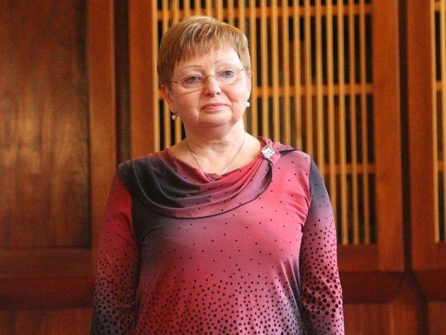 Marie Müllerová byla oceněna městem za práci v Klubu nadaných dětí.
