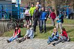 První letošní sjezd řeky Moravice.
