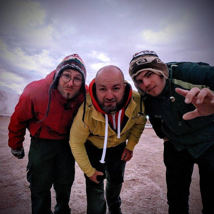 Expedice v Chile trvala tři týdny.