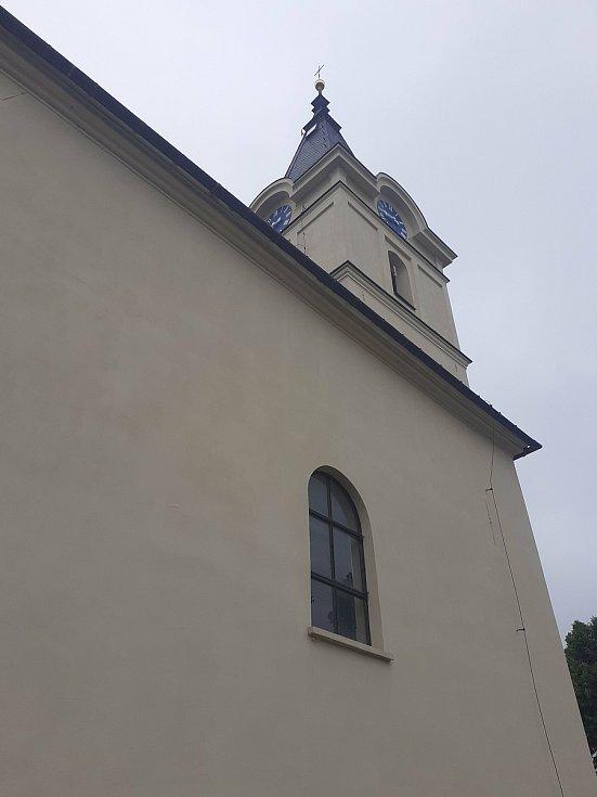 Kostel Nejsvětější Trojice.
