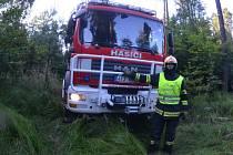 Martin Türke z Hlučína velí místní jednotce sboru dobrovolných hasičů a je také velitelem profesionálů v Bílovci.