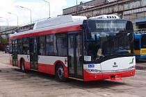 Nové trolejusy Škoda Solaris 26 Tr budou od září už všechny v provozu.