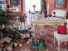 Vánoce zámeckých dětí.
