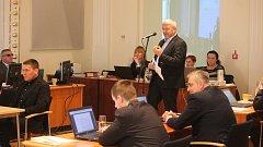 Proti záměru vystupovala nejostřeji opozice, především Marek Veselý (na snímku).