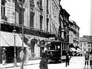 Tak vypadalo Horní náměstí v roce 1891.