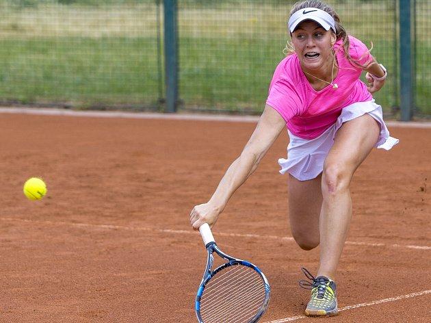 Kvalifikační turnaj tenistek na srpnové mistrovství České republiky.