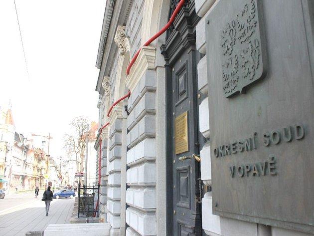 Okresní soud v Opavě. Ilustrační foto.