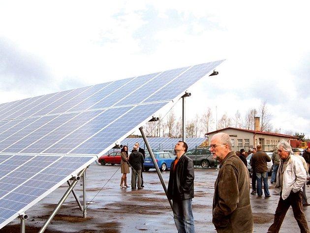 Takováto sluneční elektrárna by již brzy mohla stát ve Svatoňovicích.